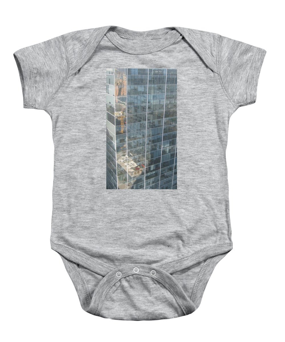 Nature Baby Onesie featuring the drawing The Whole World Inside This Glass by Robert Margetts