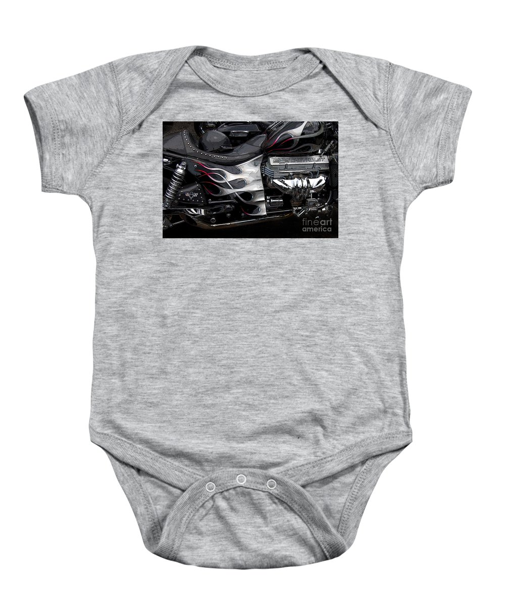 Diane Berry Baby Onesie featuring the photograph the WOW factor by Diane E Berry