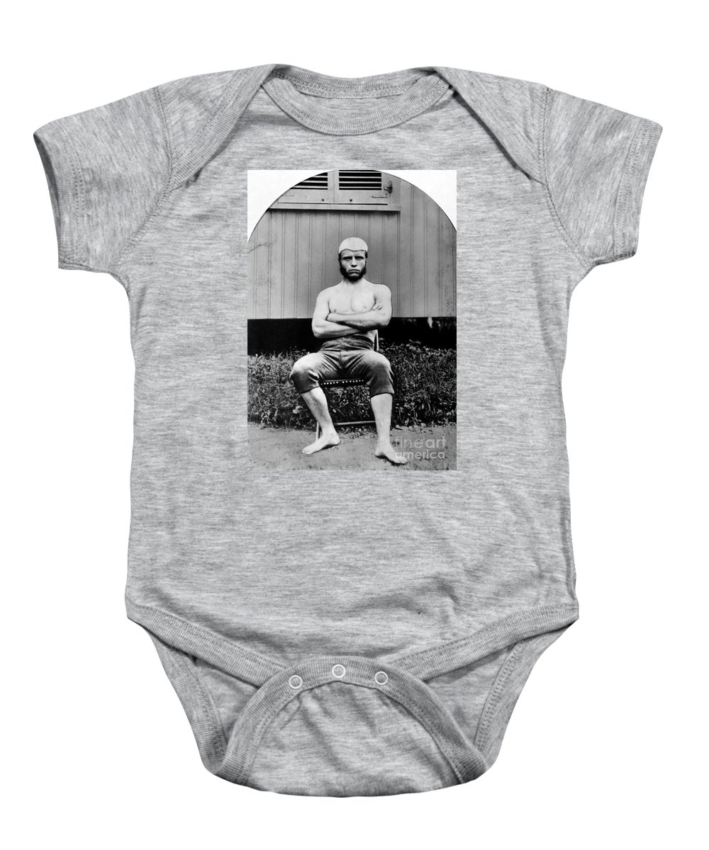 1880 Baby Onesie featuring the photograph Theodore Roosevelt by Granger