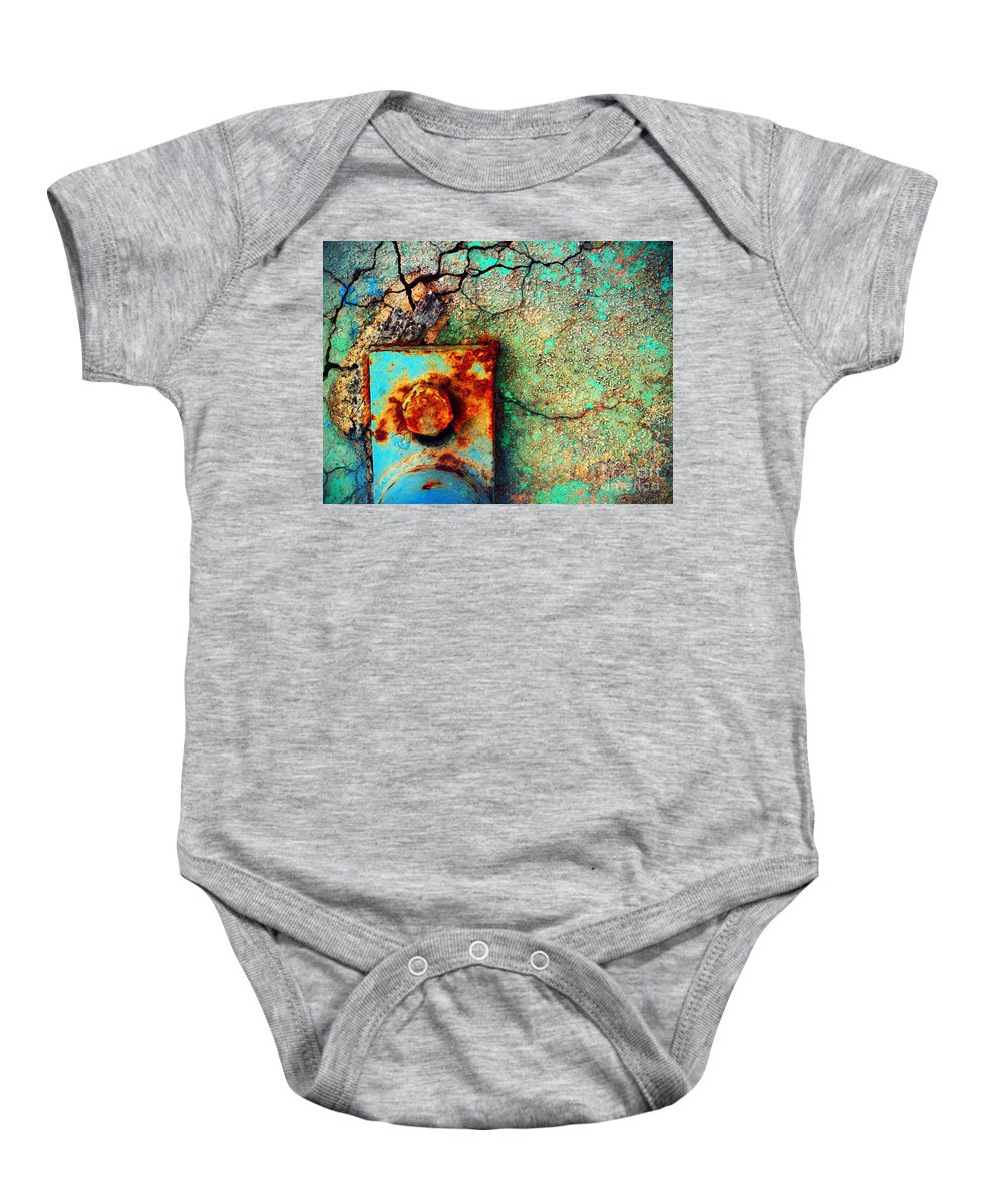 Urban Baby Onesie featuring the photograph This Is How We Hold It Together by Tara Turner