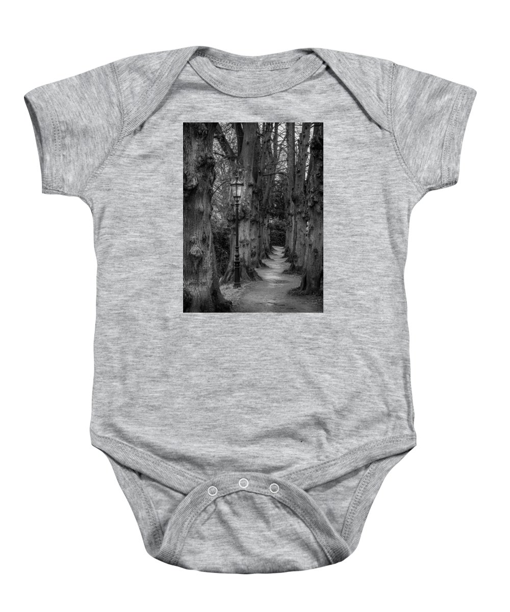Germany Baby Onesie featuring the photograph Though We Have Never Been Here by Holger Mischke