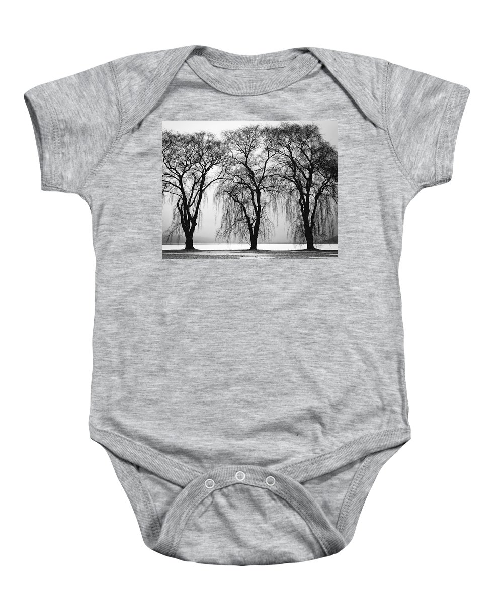 Trees Baby Onesie featuring the photograph Three Trees by Daniel Hagerman