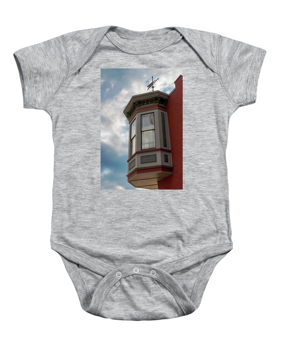 2d Baby Onesie featuring the photograph Through All Kinds Of Weather by Brian Wallace