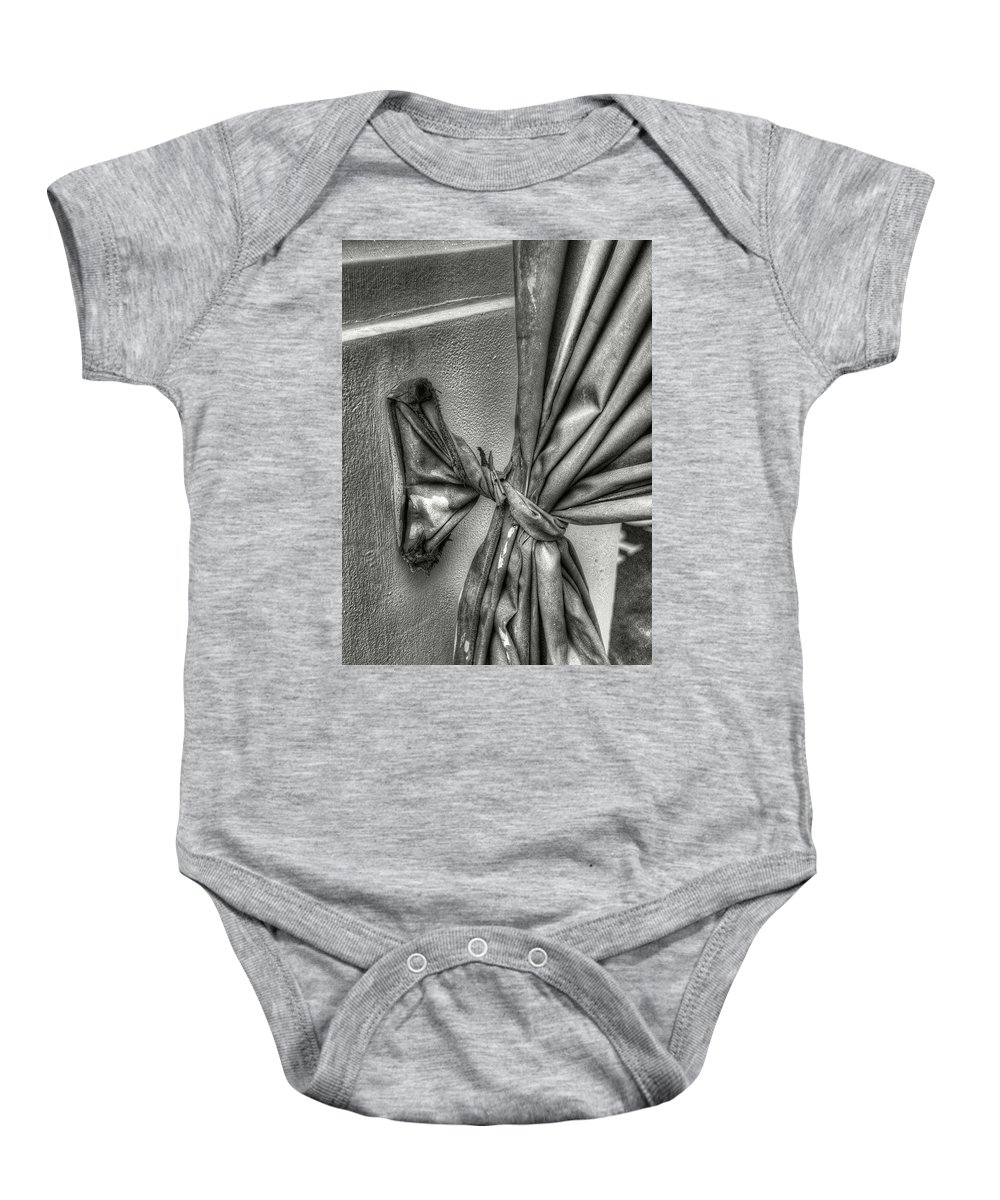 Baby Onesie featuring the photograph Tieback by Michael Kirk