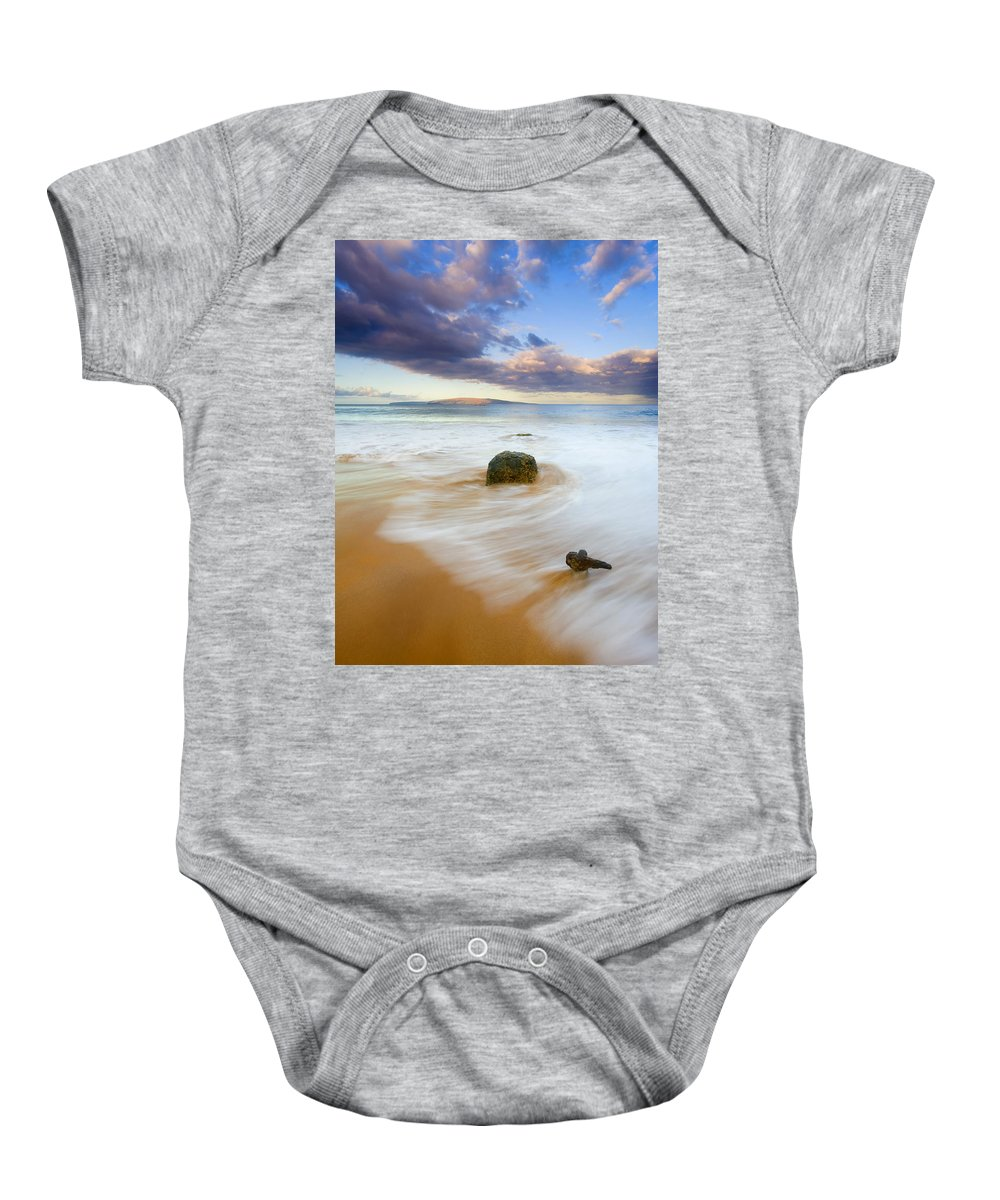 Maui Baby Onesie featuring the photograph Tied To The Past by Mike Dawson
