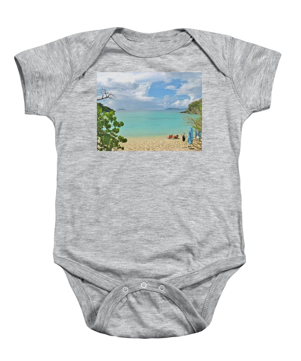 Beach Baby Onesie featuring the photograph Time To Chill by Marla McPherson