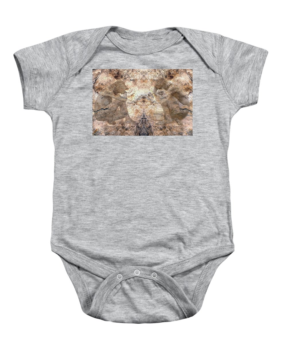 Nudes Baby Onesie featuring the photograph Timeless by Kurt Van Wagner