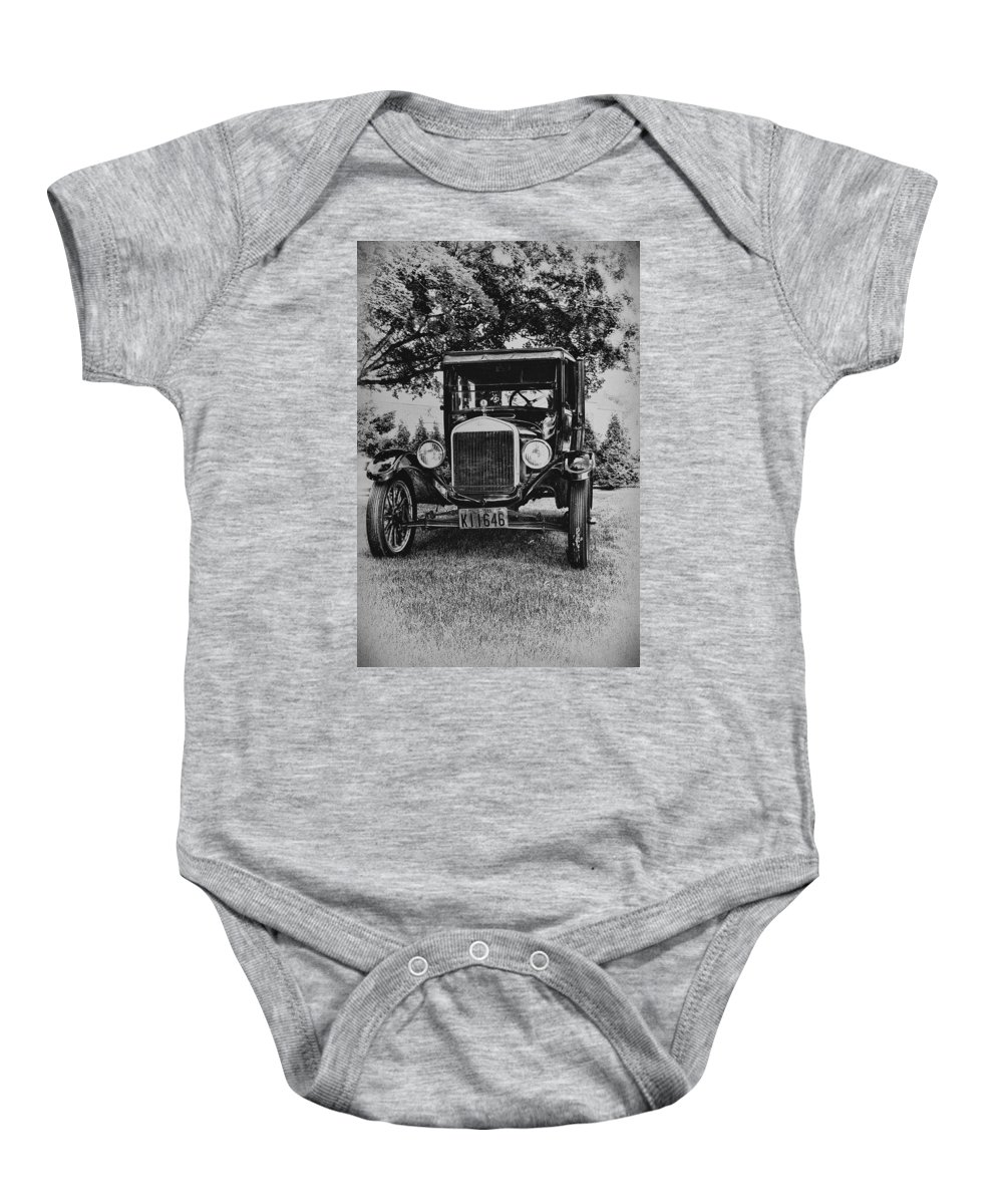 Ford Model T Baby Onesie featuring the photograph Tin Lizzy - Ford Model T by Bill Cannon