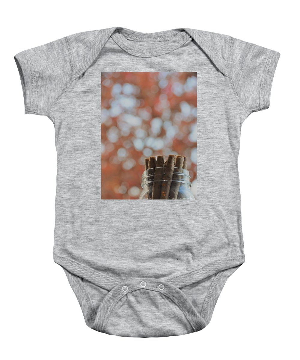 Christmas Baby Onesie featuring the photograph Tis' The Season by Adrian DeLeon