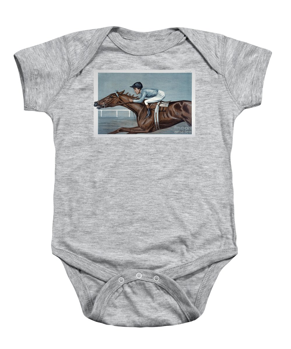 19th Century Baby Onesie featuring the photograph Tod Sloan (1874-1933) by Granger
