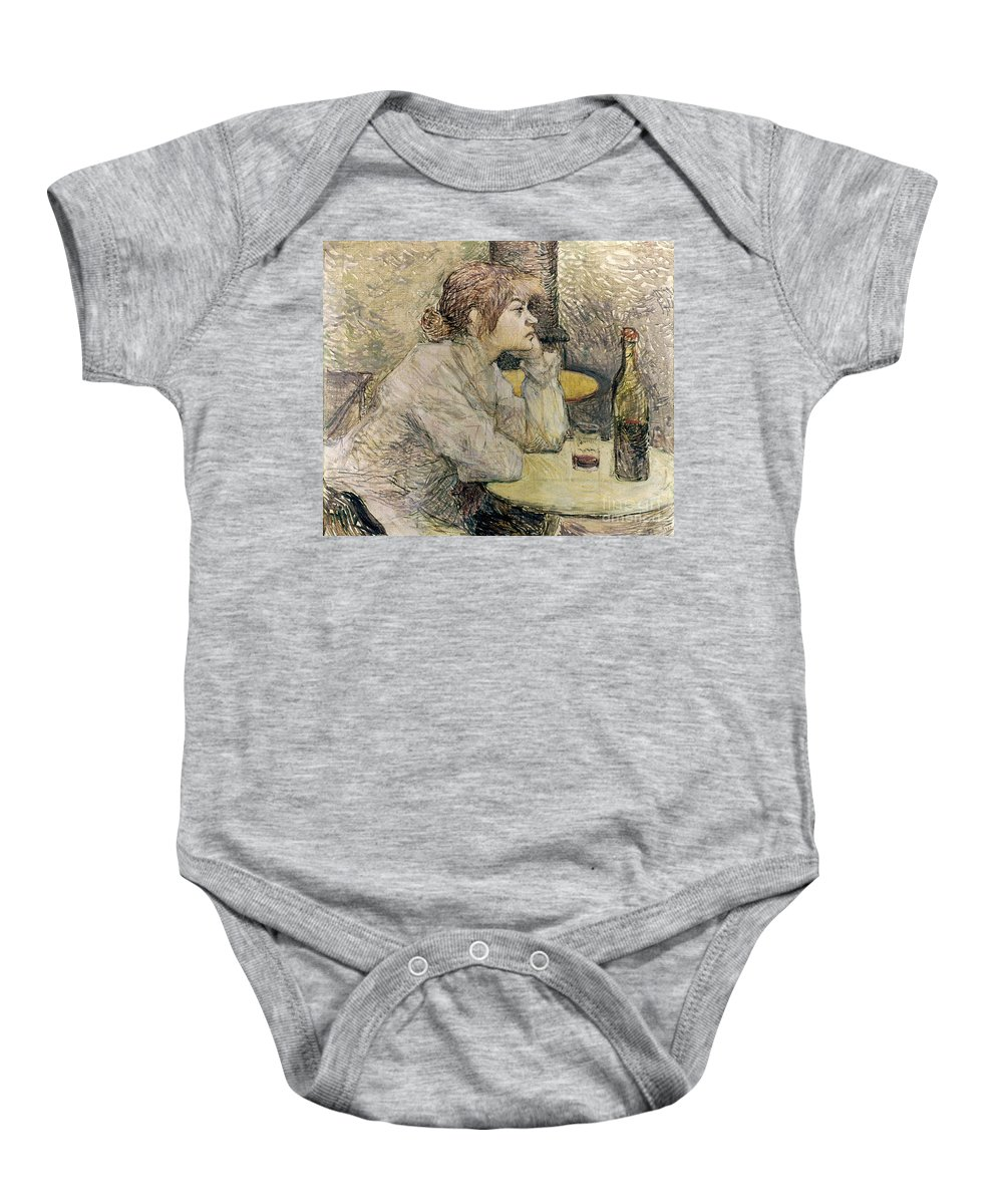 1889 Baby Onesie featuring the photograph Toulouse-lautrec, 1889 by Granger