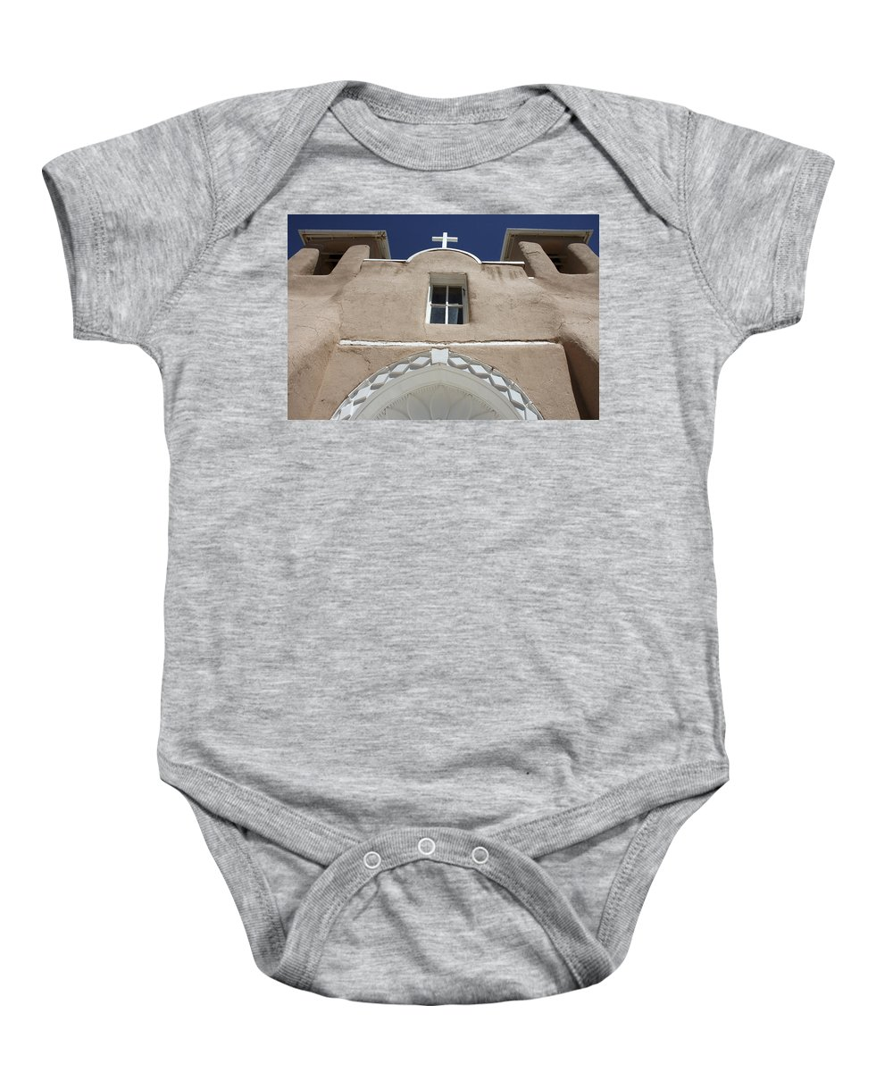 Church Baby Onesie featuring the photograph Toward Heaven by Jerry McElroy