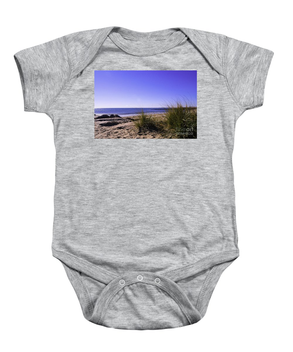 White Sand Beach Baby Onesie featuring the photograph Toward White Sands by Joe Geraci