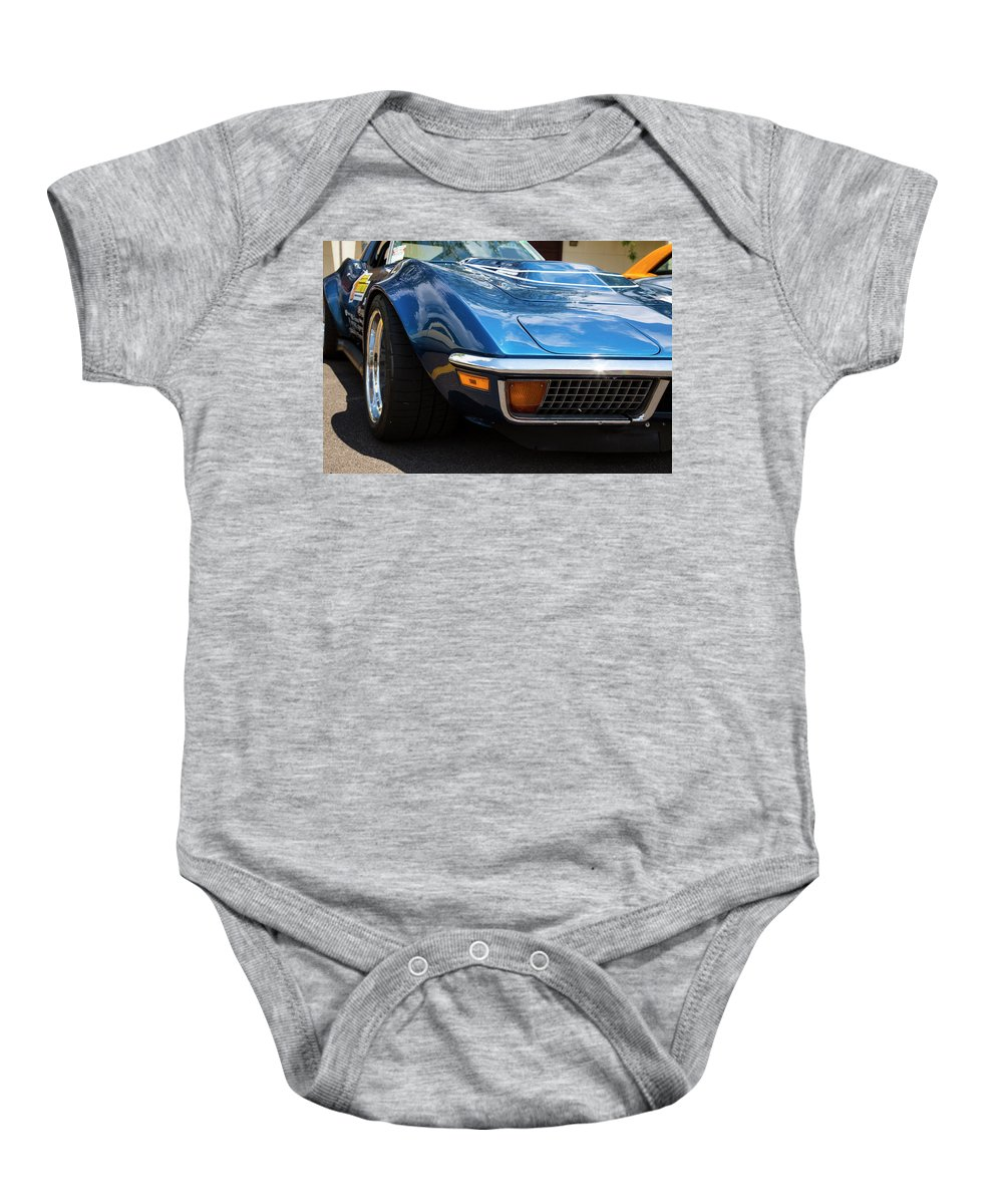 Digital Baby Onesie featuring the photograph Track Ready by Jeff Roney