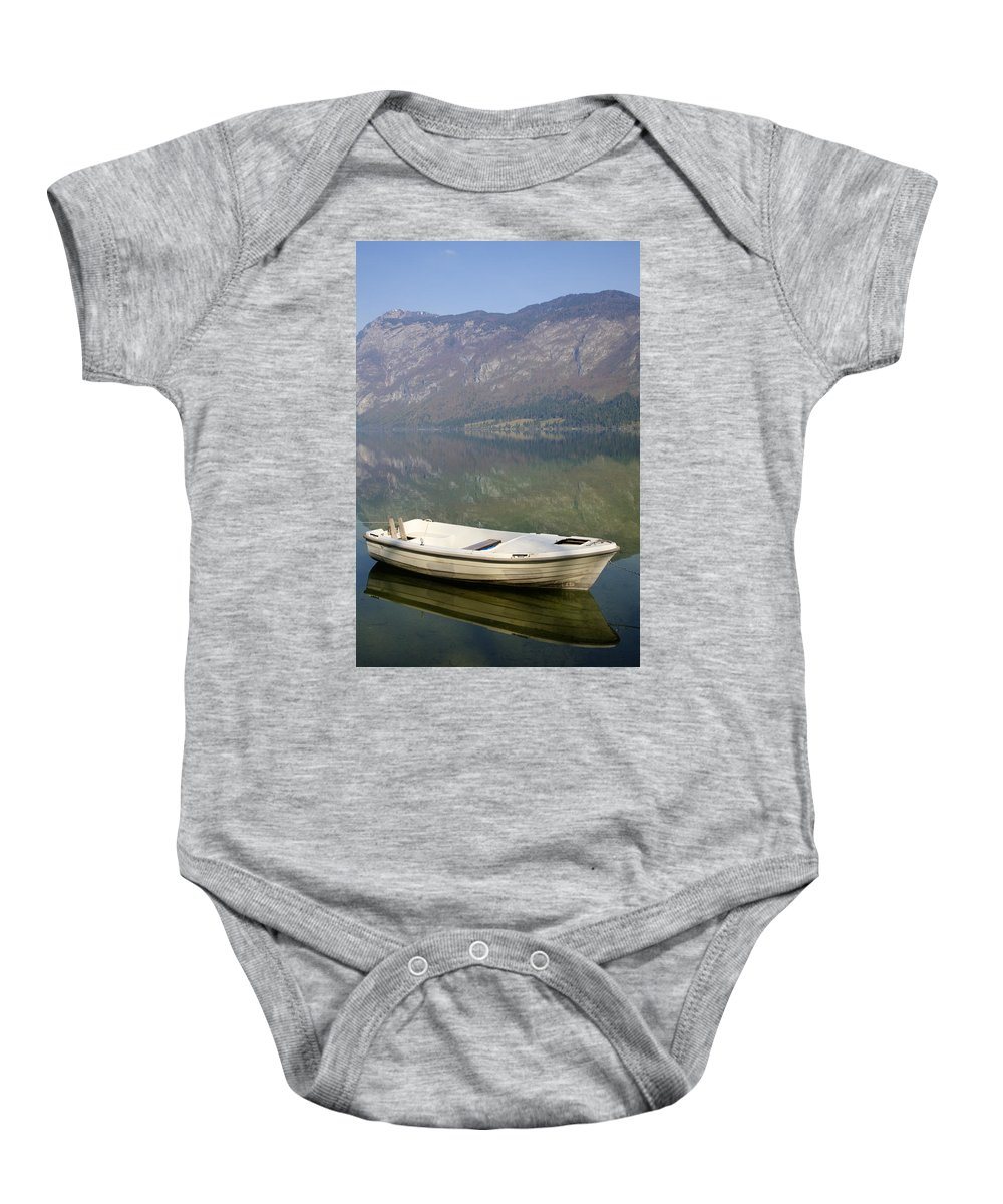 Mountains Baby Onesie featuring the photograph Tranquil by Ian Middleton