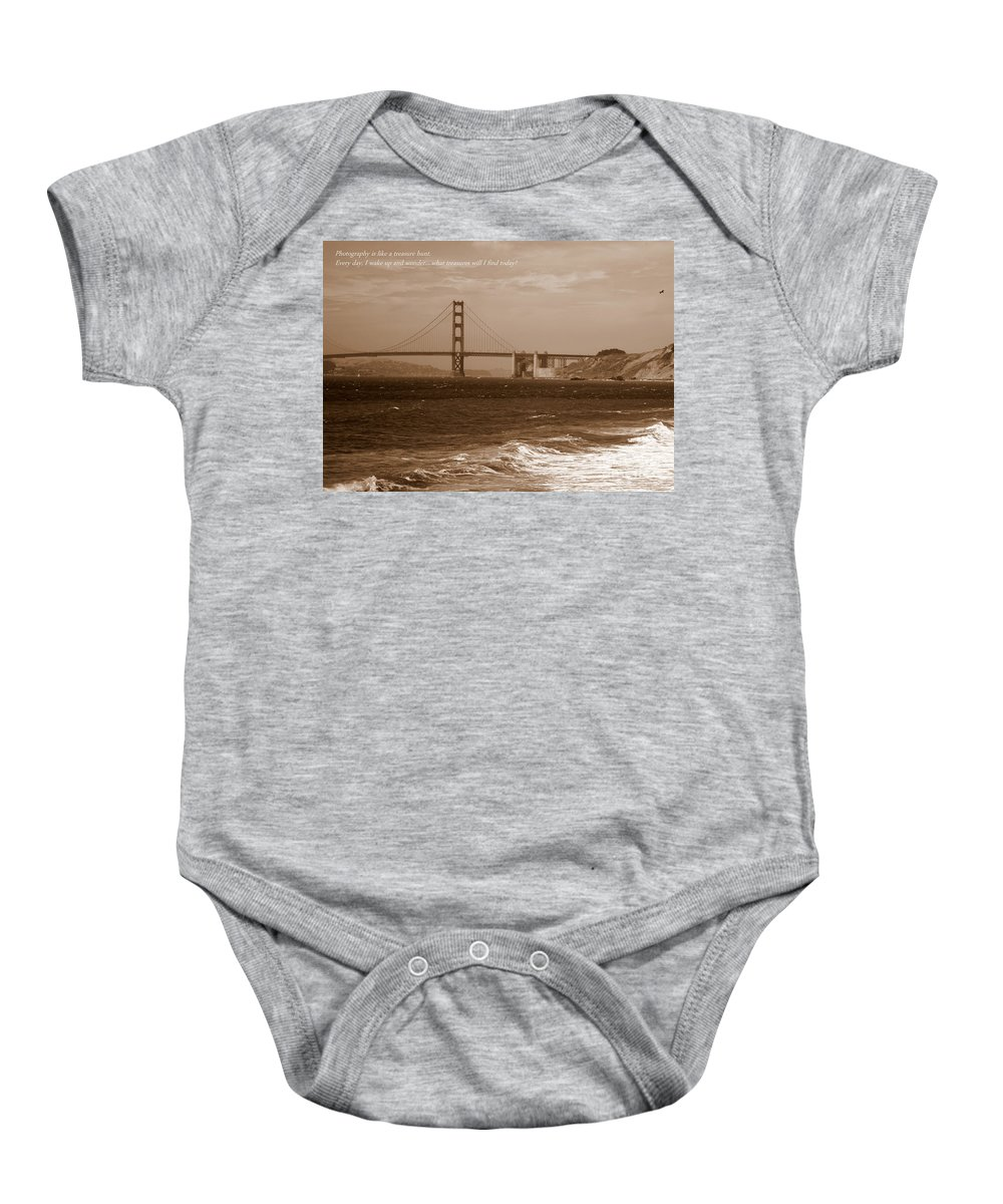 Photographers Baby Onesie featuring the photograph Treasure Hunt Poster by Carol Groenen