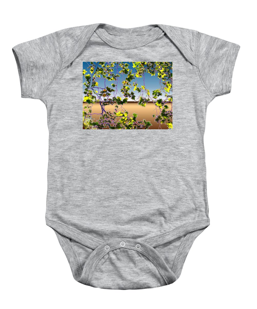 Tree Baby Onesie featuring the photograph Tree Leaves by Tim Allen