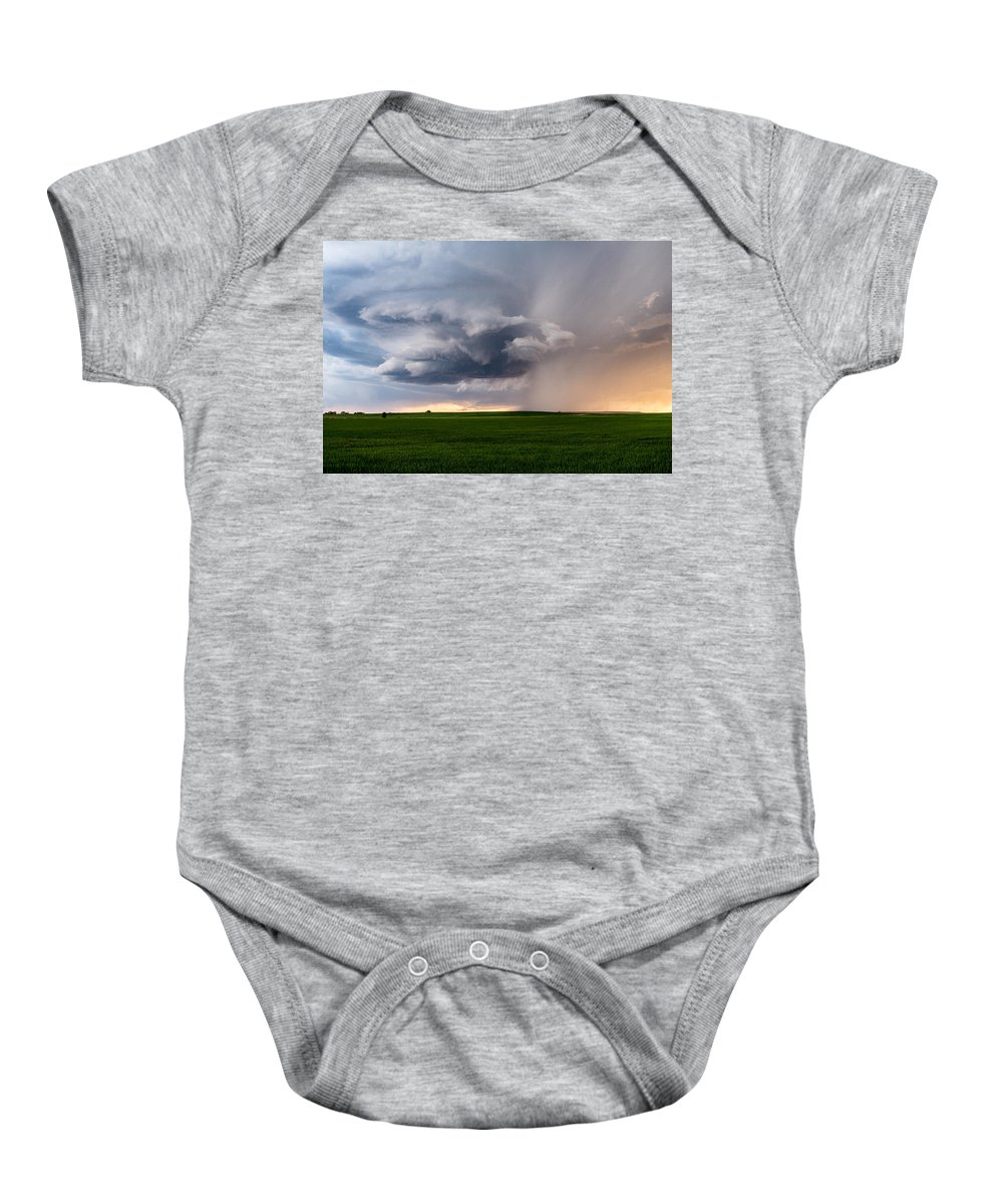 Weather Baby Onesie featuring the photograph Twisted by Eugene Thieszen