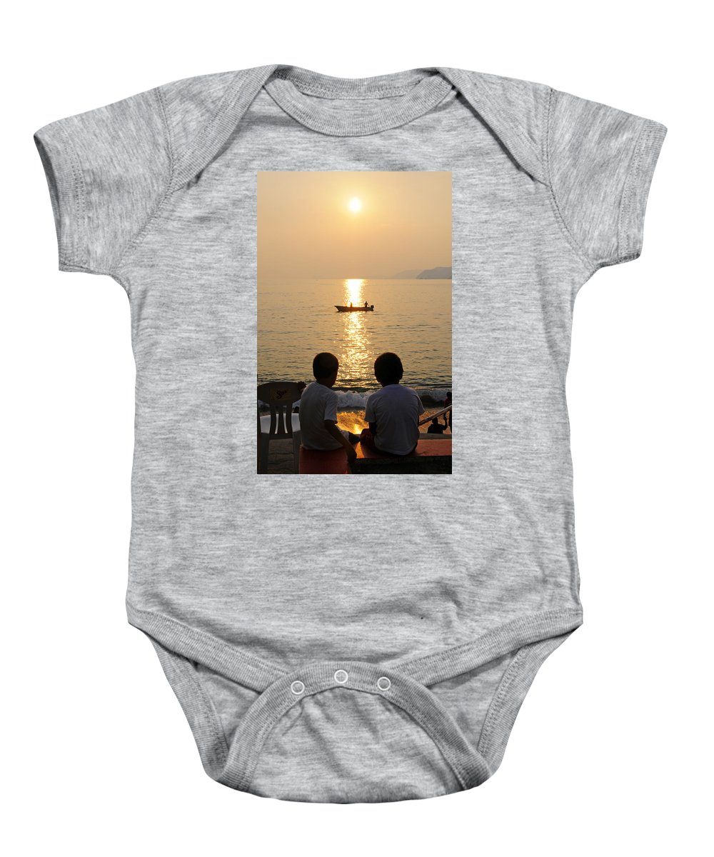 Skip Hunt Baby Onesie featuring the photograph Twofer by Skip Hunt