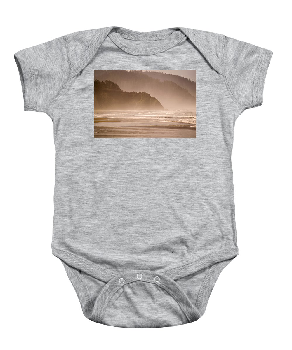 Untitled Baby Onesie featuring the photograph Untitled Fog by Indecisivelykat Photography