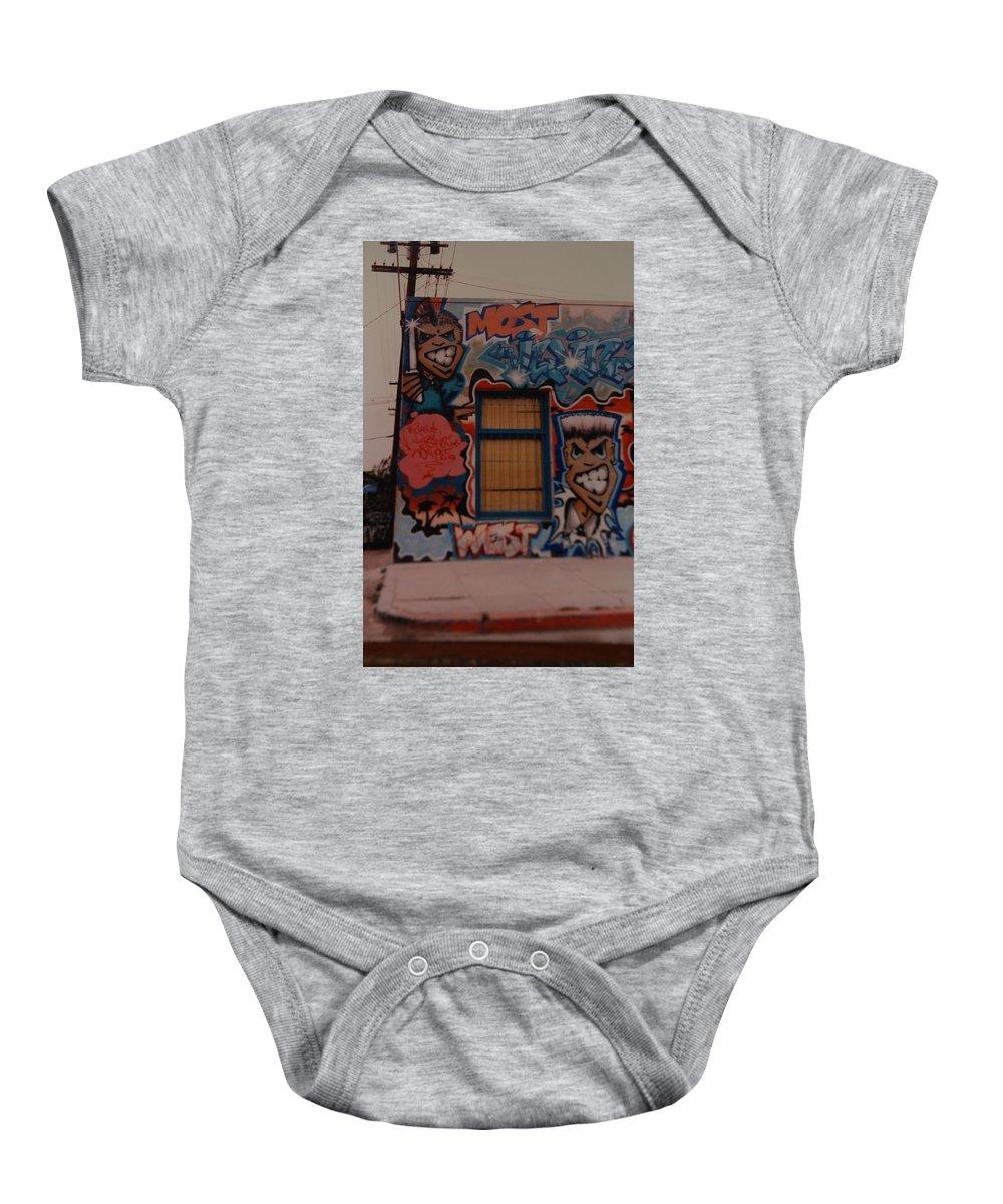 Urban Baby Onesie featuring the photograph Urban Art by Rob Hans