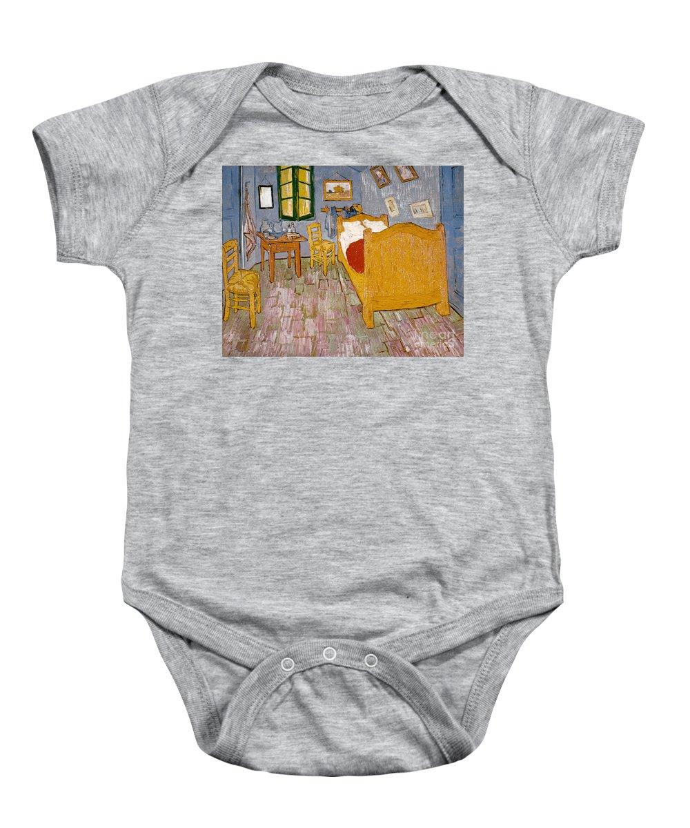 1888 Baby Onesie featuring the photograph Van Gogh: Bedroom, 1888 by Granger