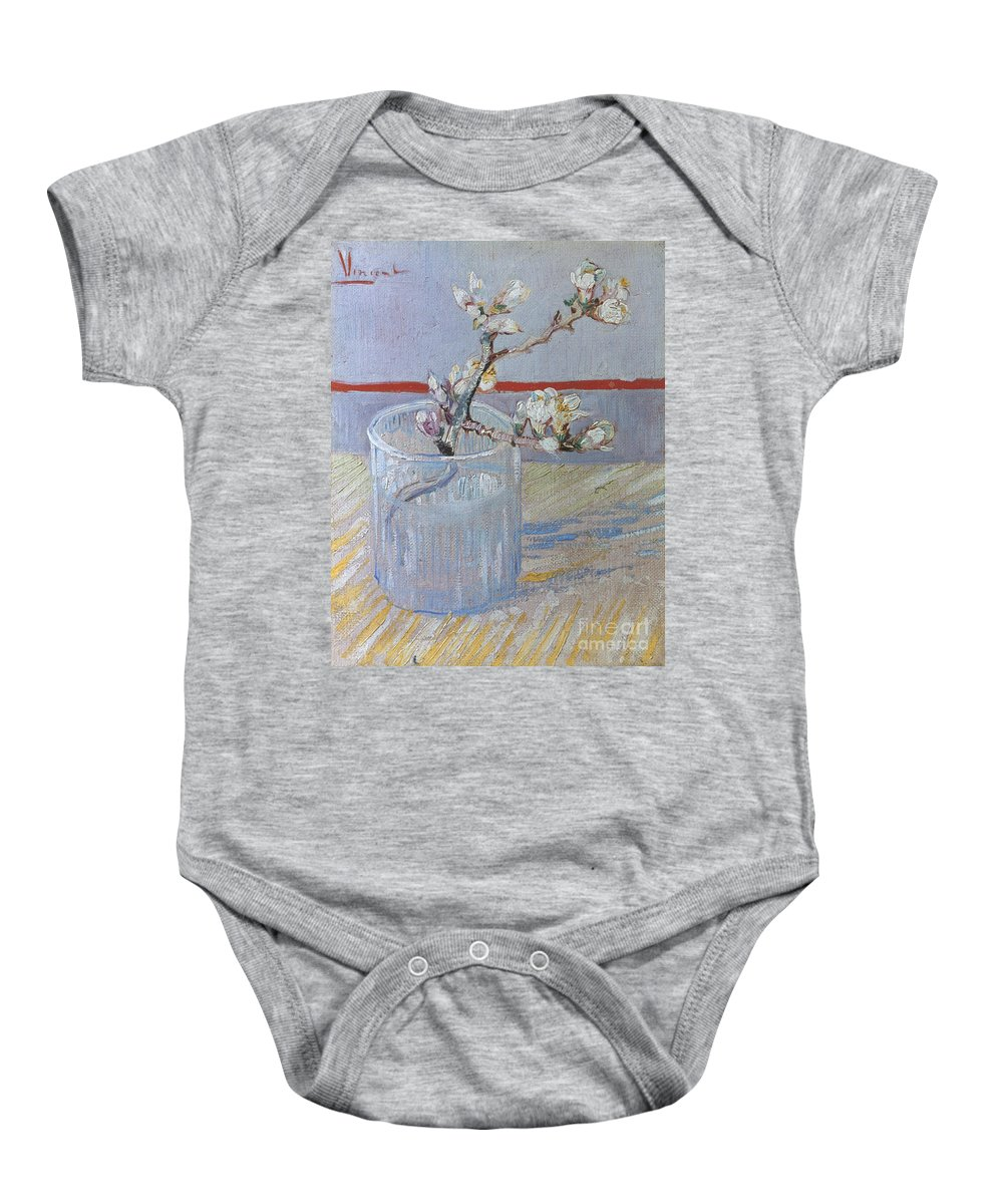 1888 Baby Onesie featuring the photograph Van Gogh: Branch, 1888 by Granger
