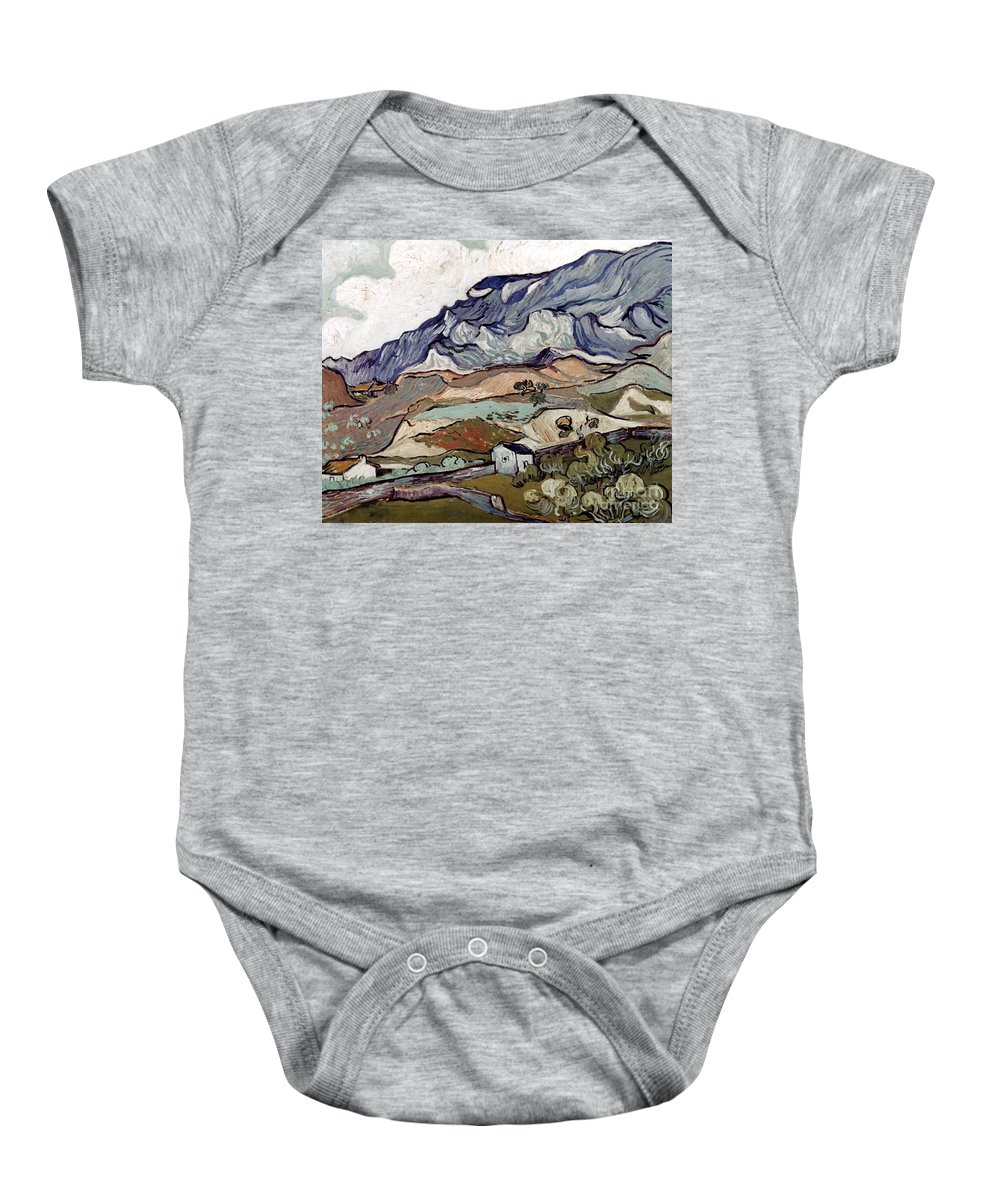1890 Baby Onesie featuring the photograph Van Gogh: Landscape, 1890 by Granger