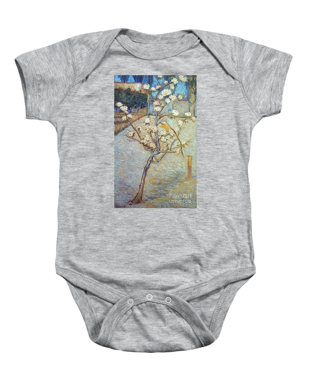 1888 Baby Onesie featuring the photograph Van Gogh: Peartree, 1888 by Granger