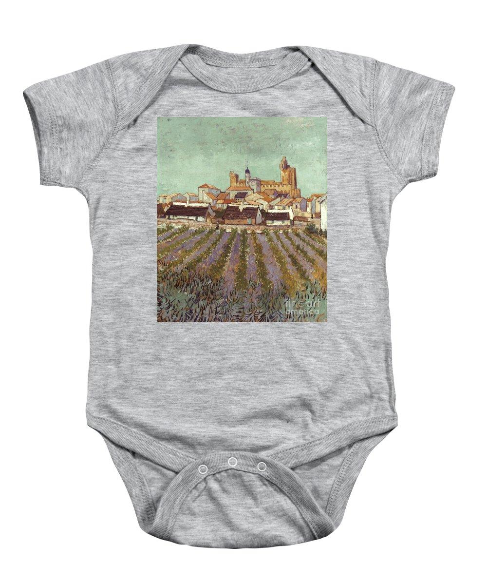 1888 Baby Onesie featuring the photograph Van Gogh: Saintes-maries by Granger