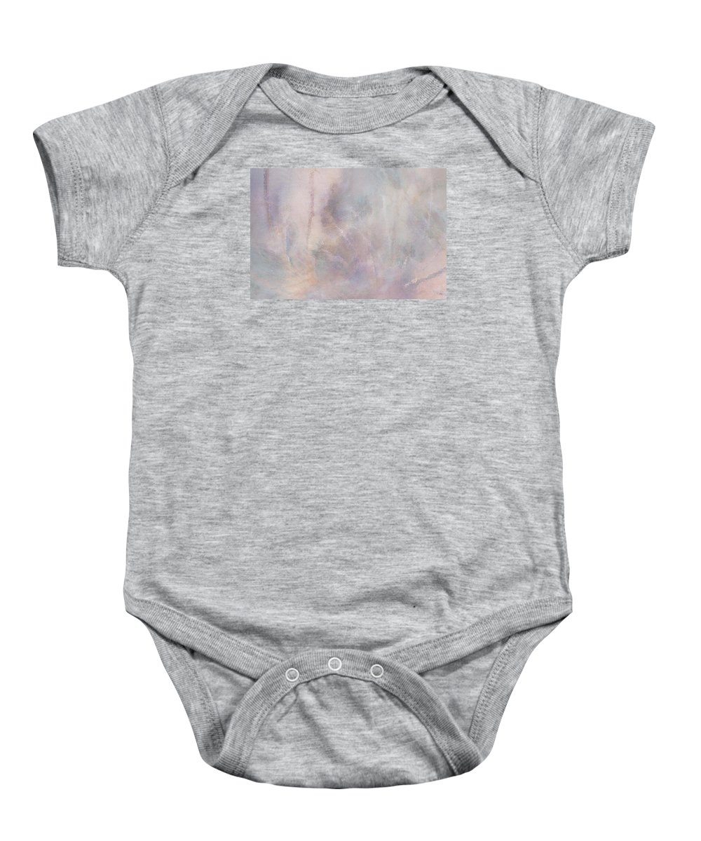 Digital Art Baby Onesie featuring the digital art Vanishing Act by Linda Murphy
