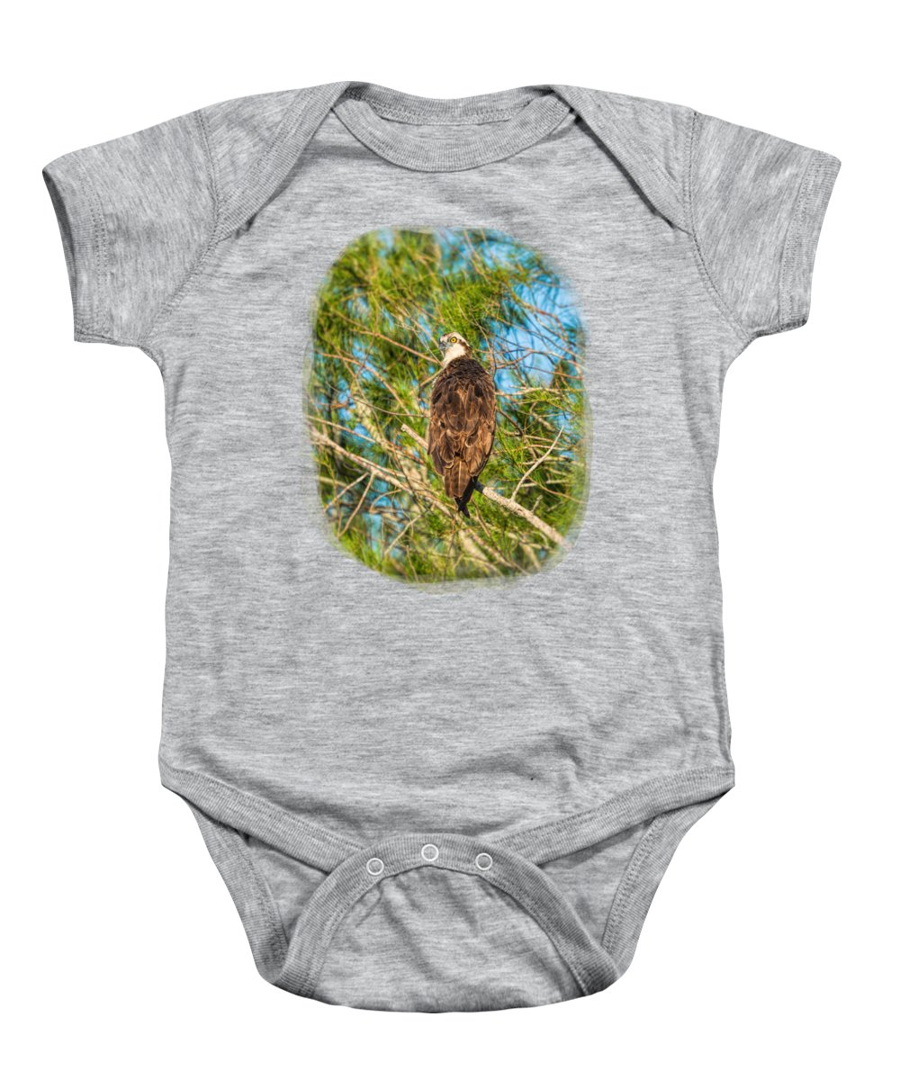 Shirts Baby Onesie featuring the photograph Vigilance 2 by John M Bailey