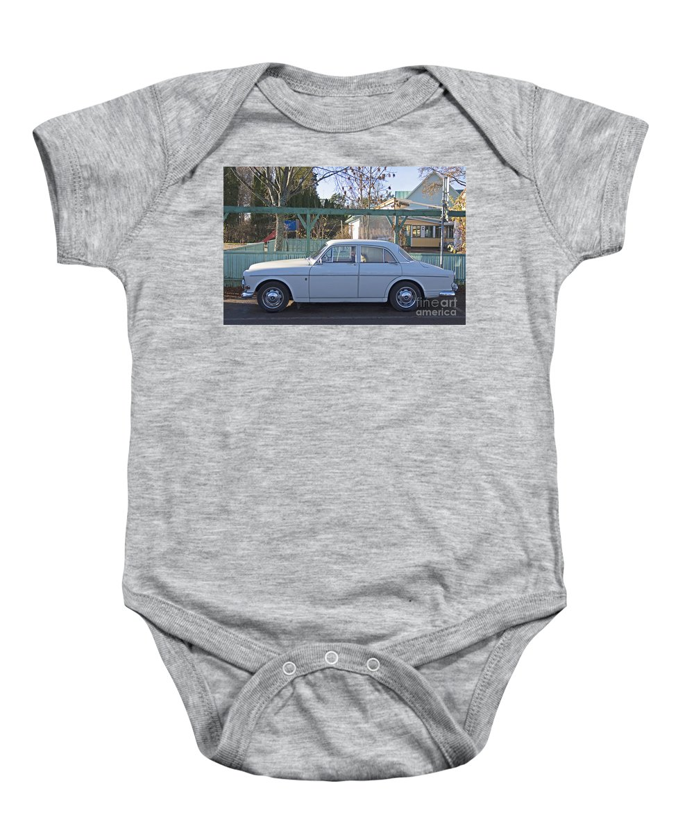 Car Baby Onesie featuring the photograph Volvo by Allan Wallberg