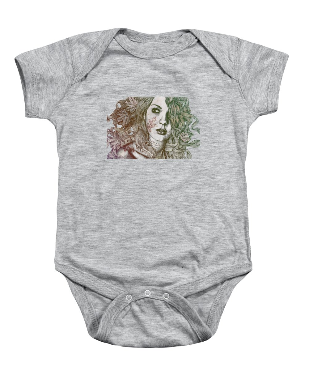 Maple Leaf Art Baby Onesies