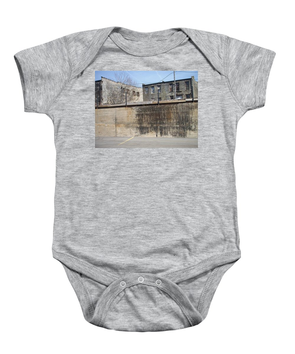 Walker's Point Baby Onesie featuring the photograph Walker's Point 3 by Anita Burgermeister