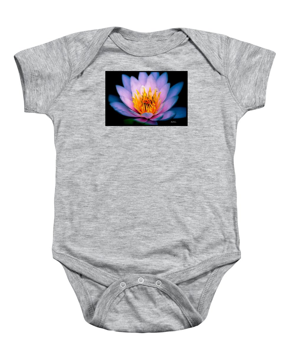 Watercolor Baby Onesie featuring the photograph Watercolors by Anita Gatrell