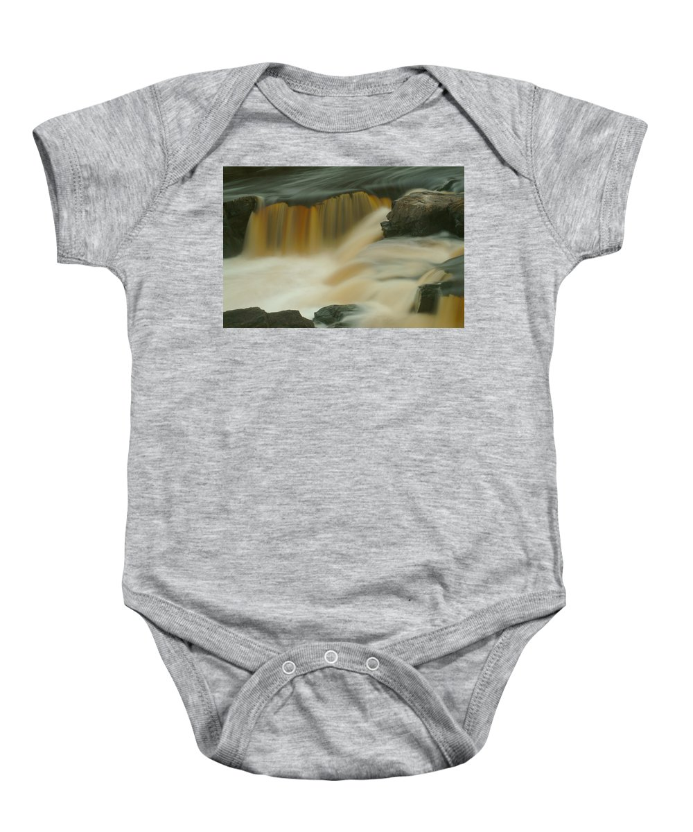 Water Baby Onesie featuring the photograph Waterfalls 31 by Kevin Lammi