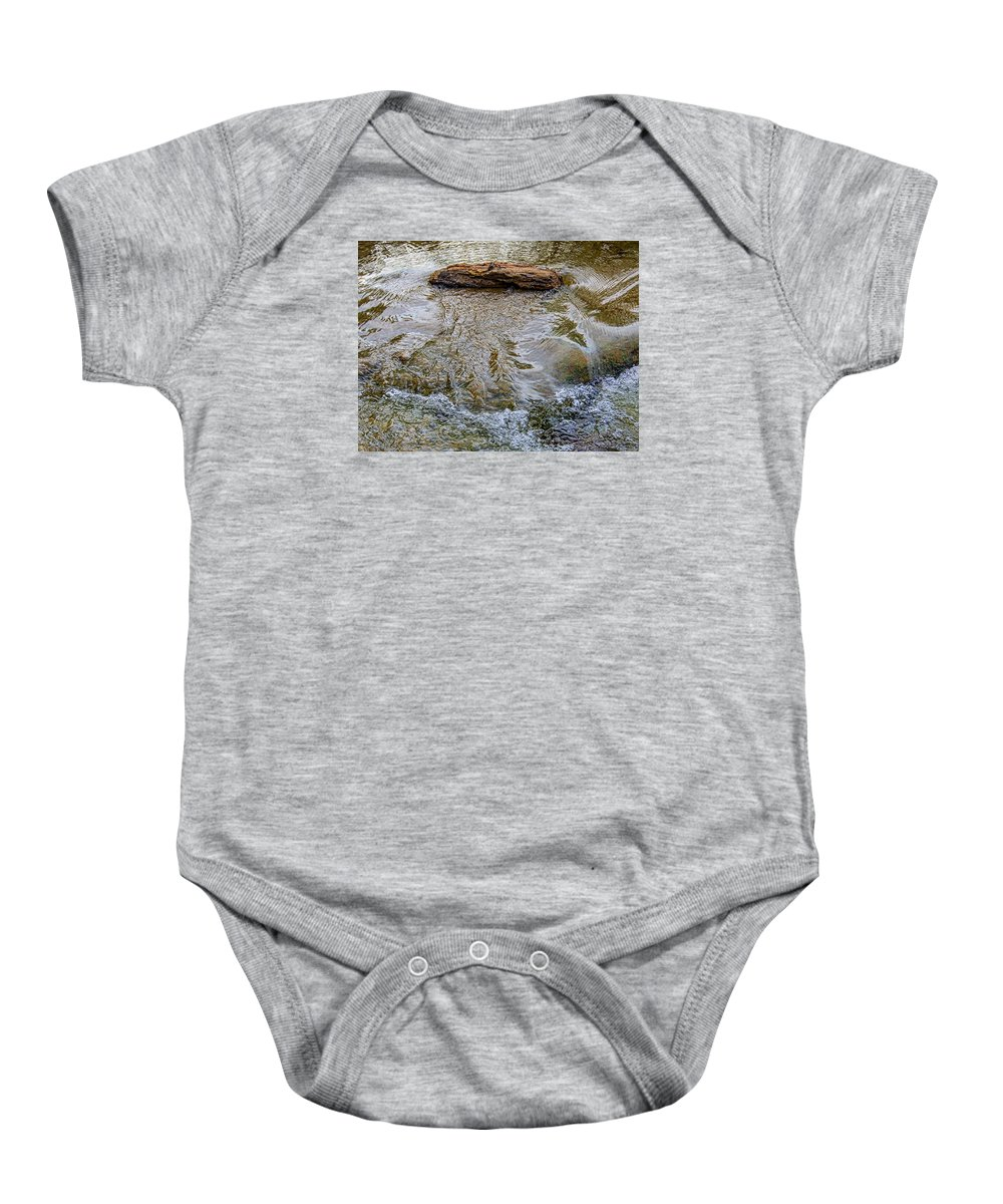 Nature Baby Onesie featuring the photograph Watermovementstudy 1.1 by Patrick O'Brien
