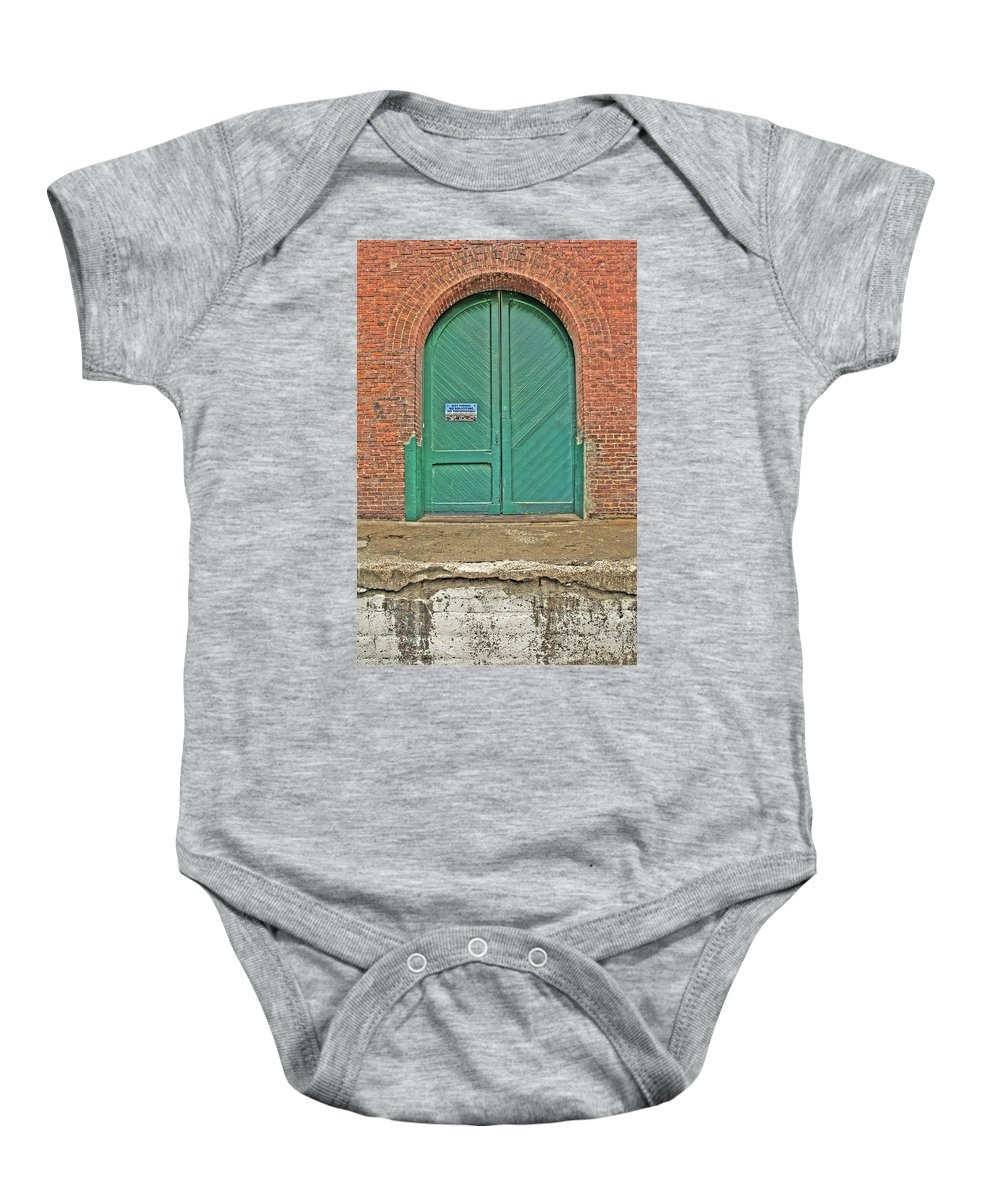 Hdr Baby Onesie featuring the photograph West Bottoms 7708 by Timothy Bischoff