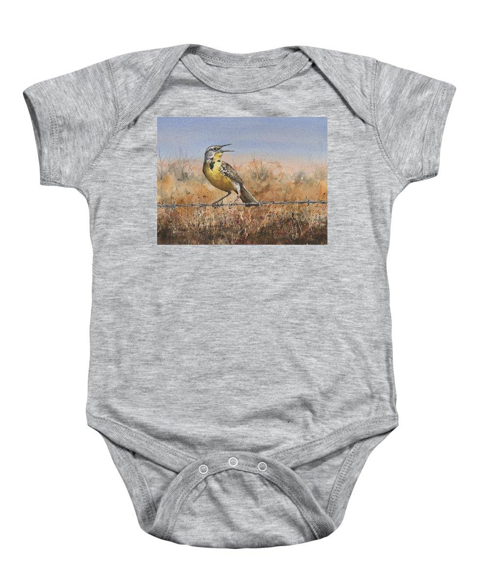 Meadowlark Baby Onesies