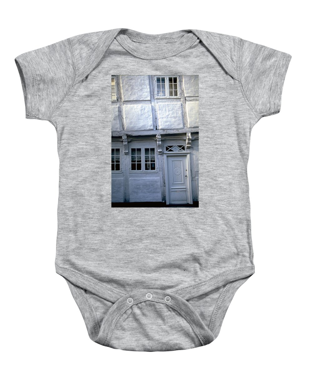 White House Baby Onesie featuring the photograph White House by Flavia Westerwelle
