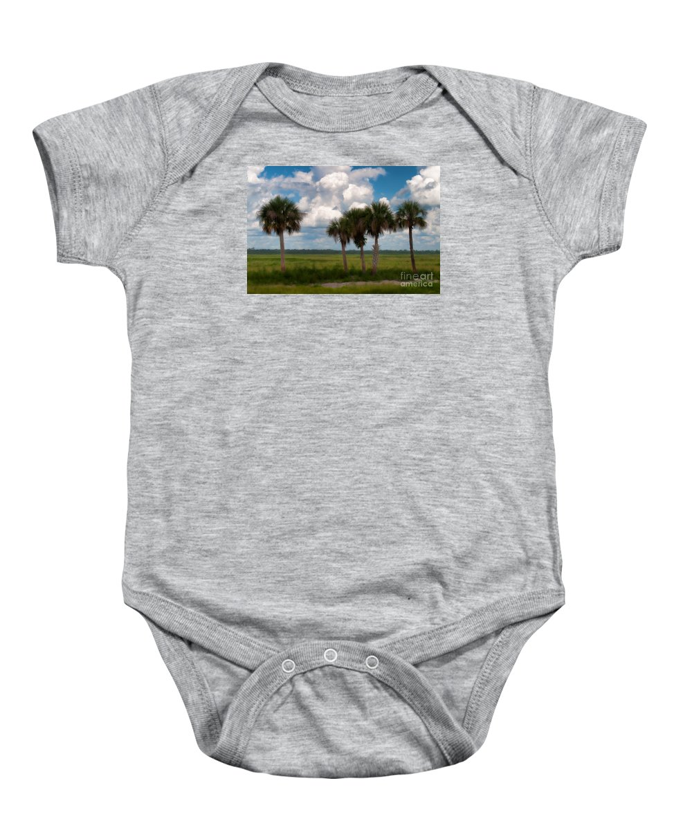 Florida Baby Onesie featuring the photograph Wild Florida by Photos By Cassandra
