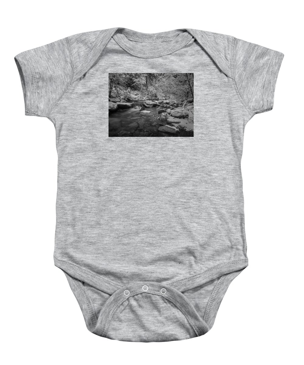 Whiskeytown National Recreation Area Baby Onesie featuring the photograph Winter Wonderland by Michele James