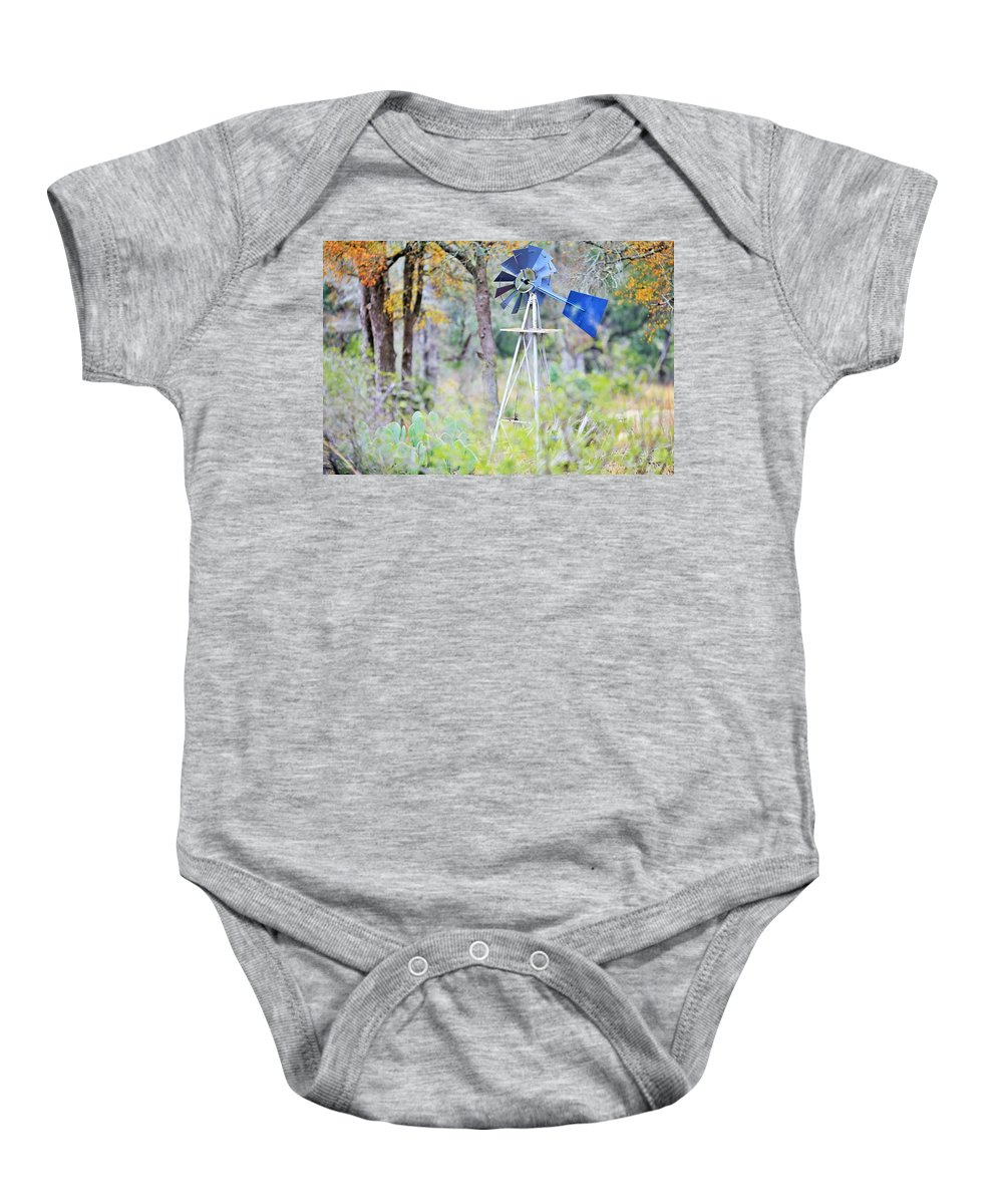 Baby Onesie featuring the photograph Ya033 by Jeff Downs