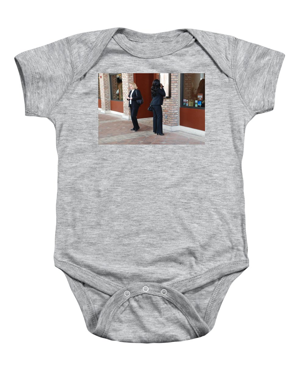 Girls Baby Onesie featuring the photograph Ying Yang by Rob Hans