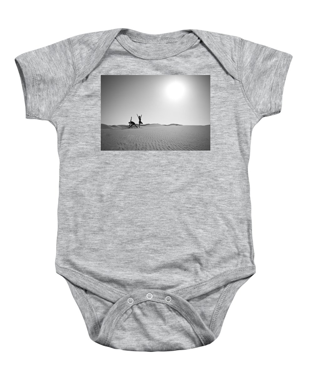 Yoga Baby Onesie featuring the photograph Yoga Landscape by Scott Sawyer