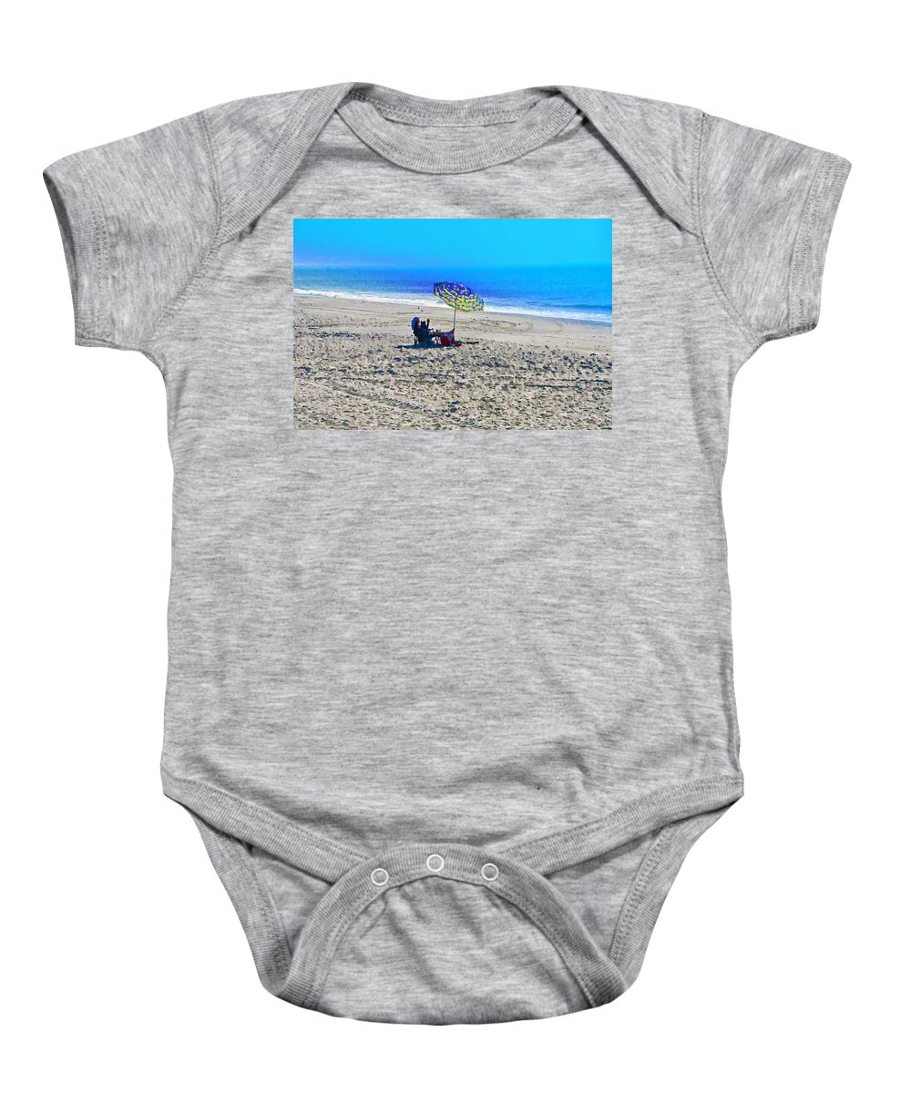 Beach Baby Onesie featuring the photograph Your Own Private Beach by Bill Cannon