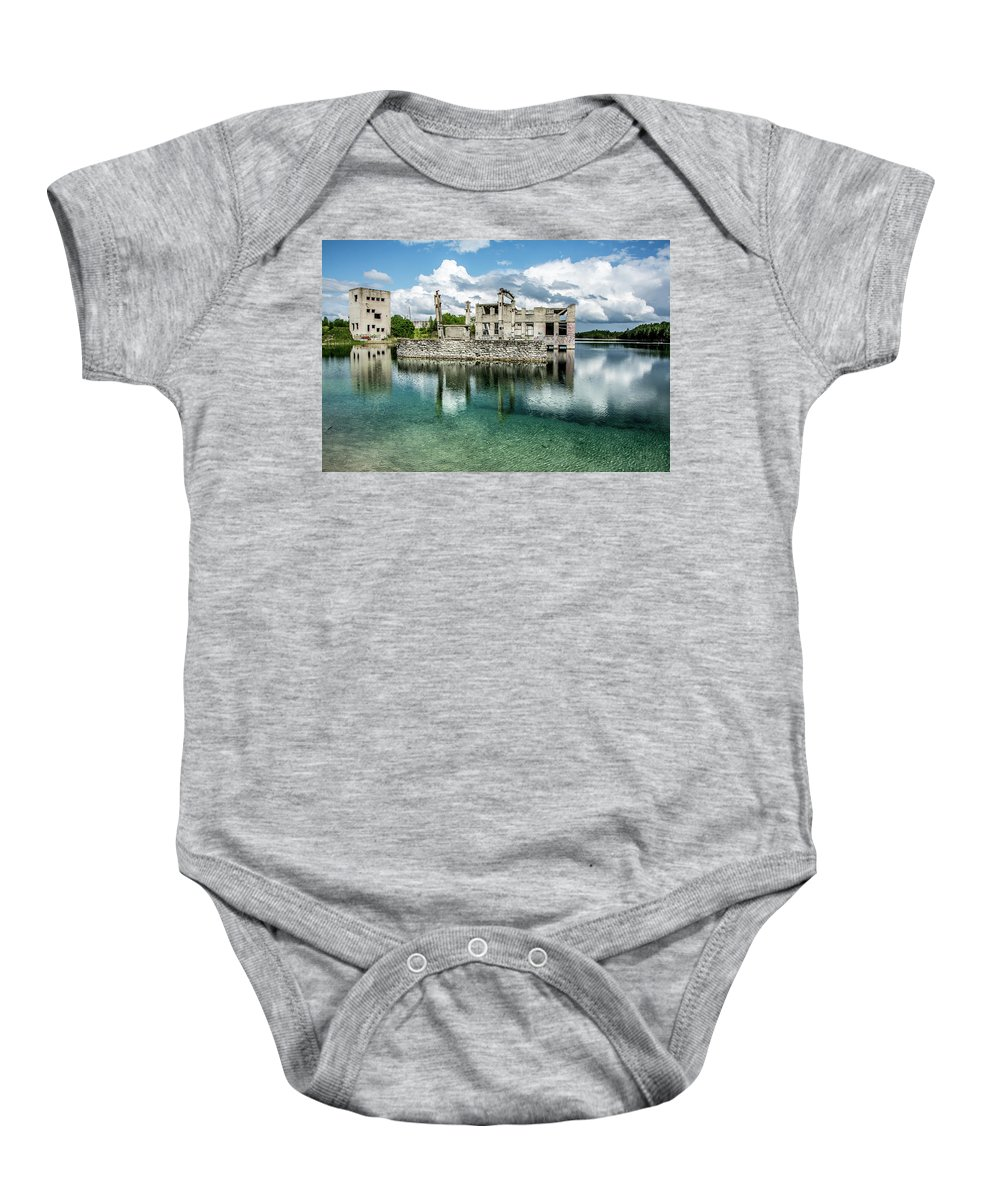 Abandoned Baby Onesie featuring the photograph Abandoned by Ole Vikshaaland