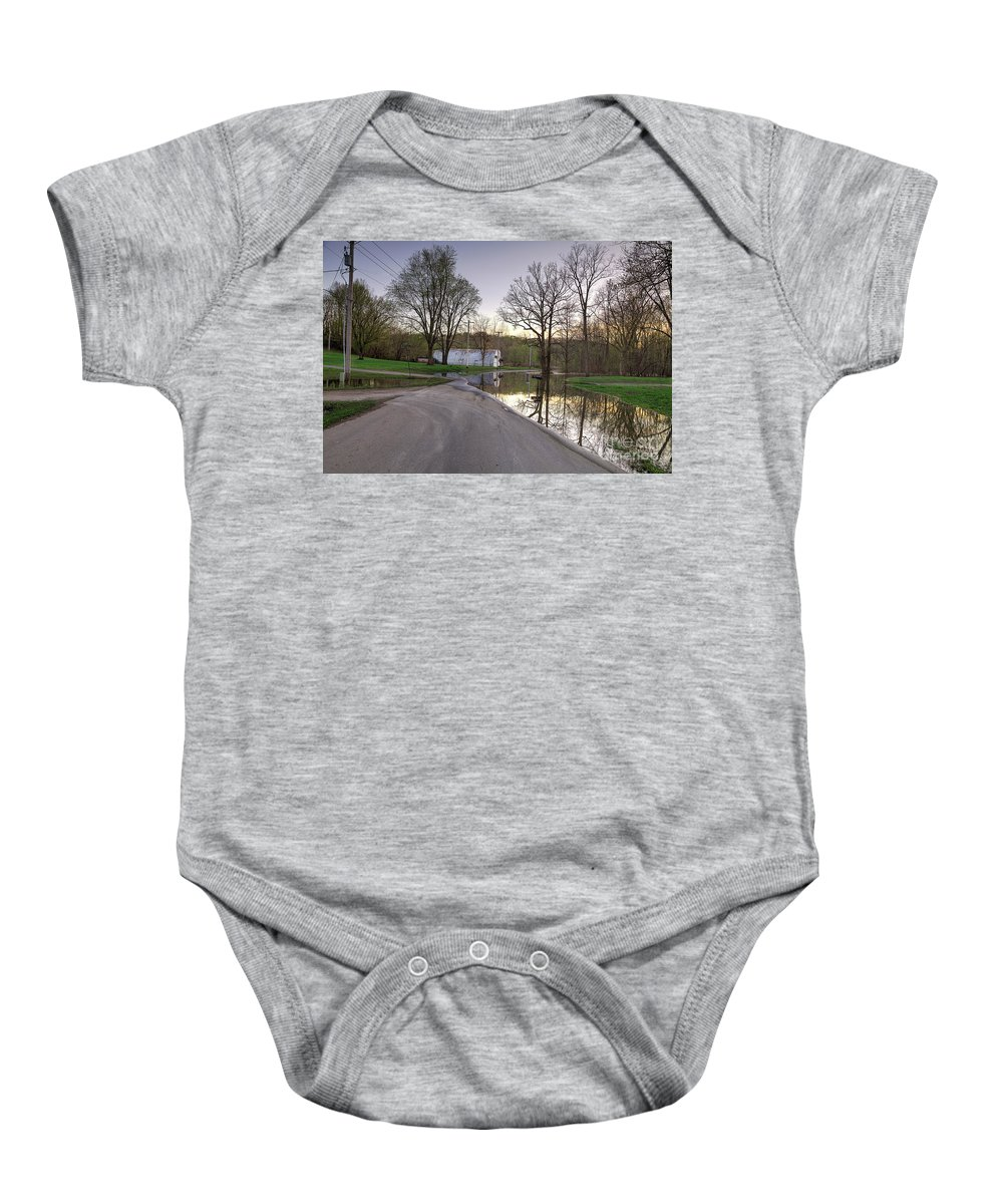 Explore Baby Onesie featuring the photograph Alone Again by Larry Braun