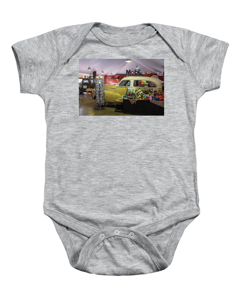 Old Baby Onesie featuring the photograph Canyon Roadhouse 1 by Claudio Maioli